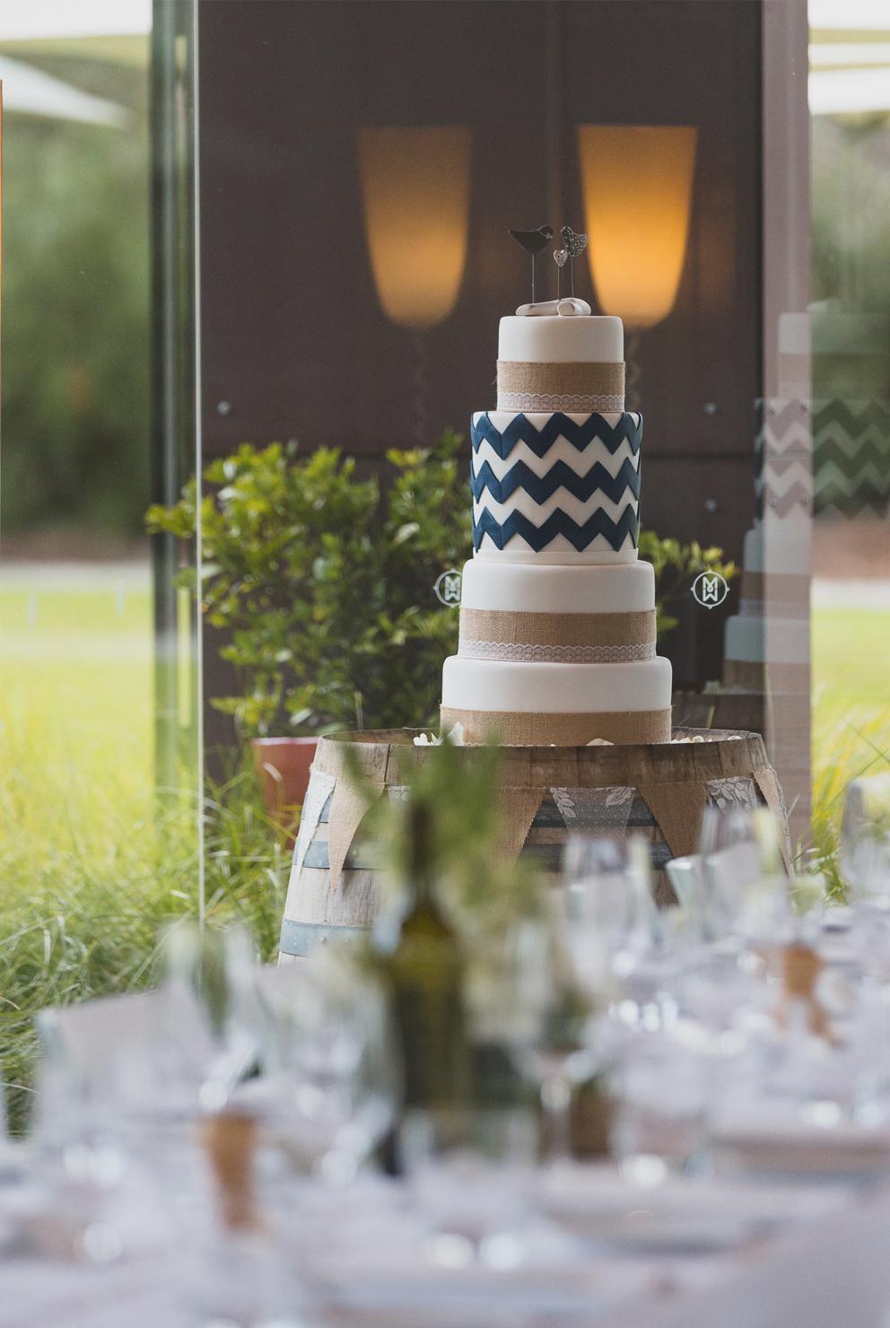 Yarra Valley Italian Restaurant_Wedding cake